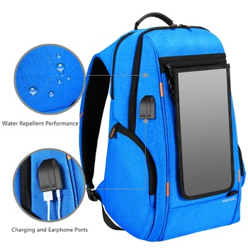 Multi-function Solar Panel Backpack 1
