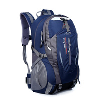 40L Outdoor Waterproof Durable Hiking Backpack Women&Men Camping Travel Bag Trekking Sport mountaineering Bag Rucksack WYM301