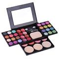 Sexy Multicolor Rubor En Polvo de Maquillaje Paleta de Sombra de Sombra de Ojos A Prueba de agua Lápiz Labial Composición Kit de Cosméticos
