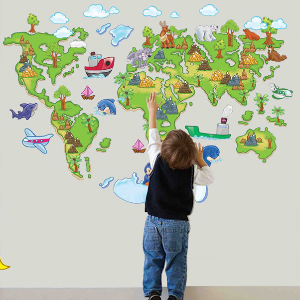 World map outline mural gallery diagram writing sample and guide aliexpress buy large map of the world outline removable diy aliexpress buy large map of the sciox Image collections