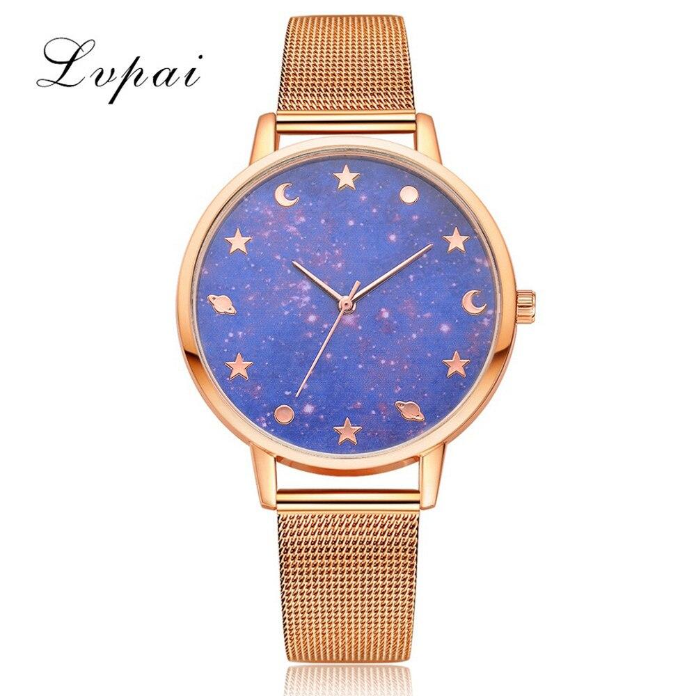 LVPAI Gold Watches Women Quartz Wristwatch Clock Ladies Dress Gift Watches Casual Quartz Watch Waches Women Relogio Feminino Hot