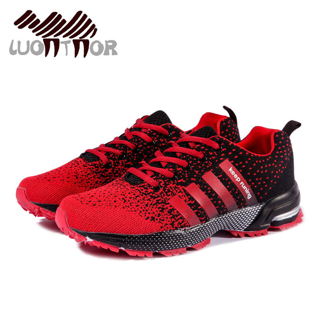 LUONTNOR Hot Sale Running Shoes Sports Shoes Breathable Male Light Weight  Shoes Sneakers for Man Adult Outdoor Athletic Trainers e64784d8ca0f