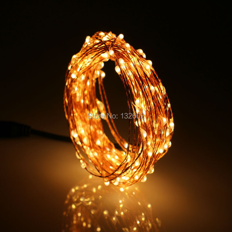 new styles aaec1 cb713 US $5.62 12% OFF|5M 50LEDs Christmas Fairy Lights Copper Wire Waterproof  LED Starry Lights DC12 DC plug LED String Light Holiday Lights-in LED  String ...