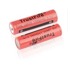 8pcs/lot TrustFire IMR 18650 3.7V 1500mah Rechargeable Battery Lithium-ion Batteries For LED Flashlights electronic cigarettes