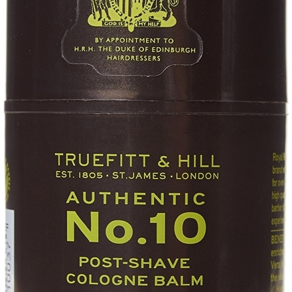 Truefitt & Hill 176652 3.4 oz No.10 Post - Shave Cream Cologne Balm for Men бритье truefitt