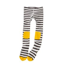 Spring Girls Tights Cartoon Cotton Knitted