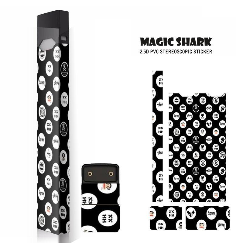 Magic Shark New Fashion Sky Star Sticker For Juul Skin for Juul Case Cover Film Sticker E Cigarette sticker