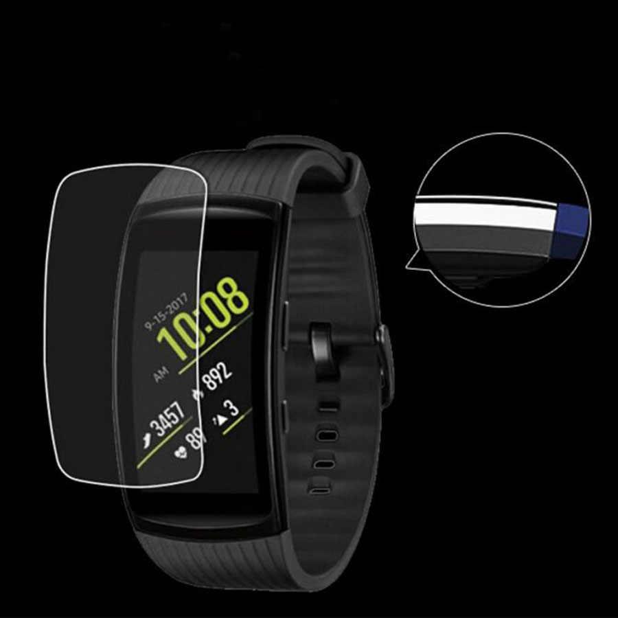Protector de pantalla de película de TPU suave 3D a prueba de arañazos para Samsung Gear S Fit 2 Pro Neo R750 R381 R380 r360 R350 HD protector de la cubierta