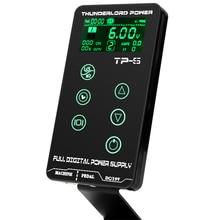Fuente de alimentación para tatuaje HP 2, TP 5 de pantalla táctil HURRICAN, maquillaje Digital inteligente LCD, conjunto de suministros de alimentación para tatuaje Dual
