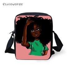 ELVISWORDS Flaps Messenger Bag American Girls Prints Pattern Small Women Bags Crossbody Fashion Design Mini Shoulder Purses