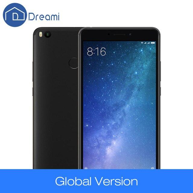"Dreami Xiaomi Mi Max 2 4GB 64GB Max2 4 ГБ 64 ГБ Мобильный Телефон 5300mAh Octa Core 6.44 ""1920x1080 Snapdragon 625 12MP 2.0GHz"