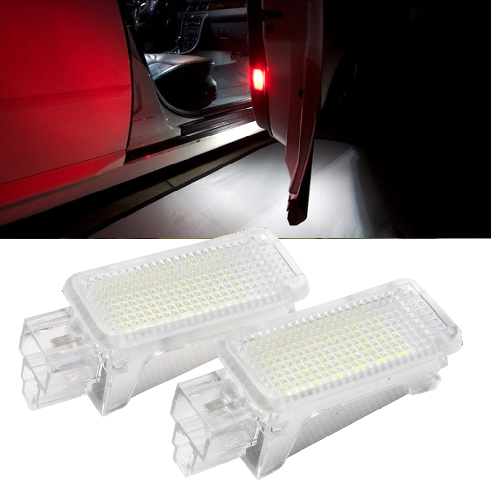 12V LED Lamp Boot Trunk Luggage Compartment Light for Audi VW Golf, seat, roomster, Lamborghimi 18SMD White Led Door Light one pair car led interior lamp luggage compartment light case for audi vw skoda seat k 030901 freeshipping ggg