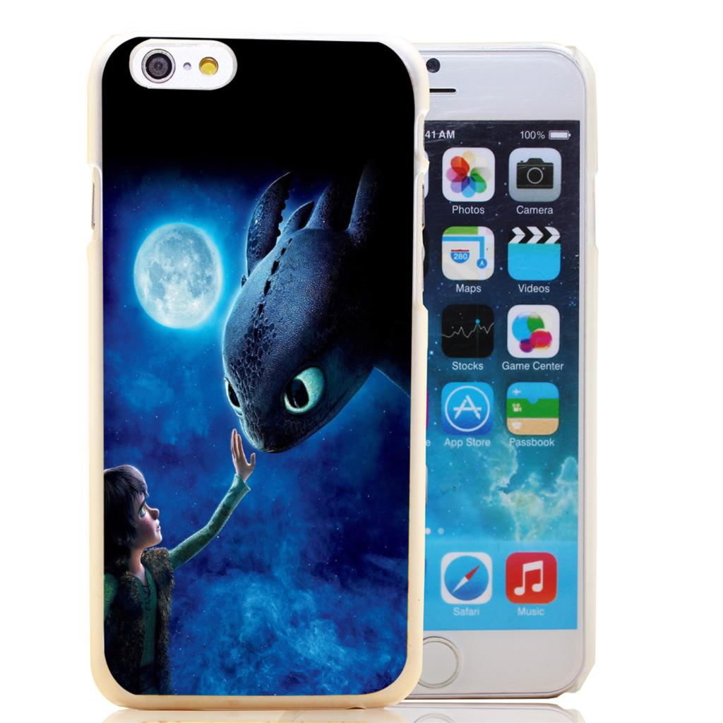 765-HOQE How To Train Your Dragon Transparent Hard Case Cover for iPhone 6 6s plus 5 5s 5c 4 4s Phone Cases