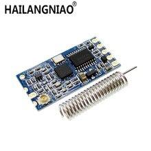 10 pcs 433 Mhz HC 12 SI4463 אלחוטי יציאה טורית מודול 1000 m להחליף Bluetooth חדש