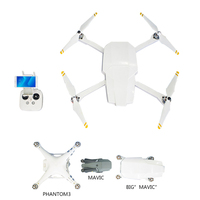 Phantom 3 Standard Transforms To Foldable Drone Like Big Mavic DJI Phantom 3S Folding Drone Body Shell Case Protective Cover