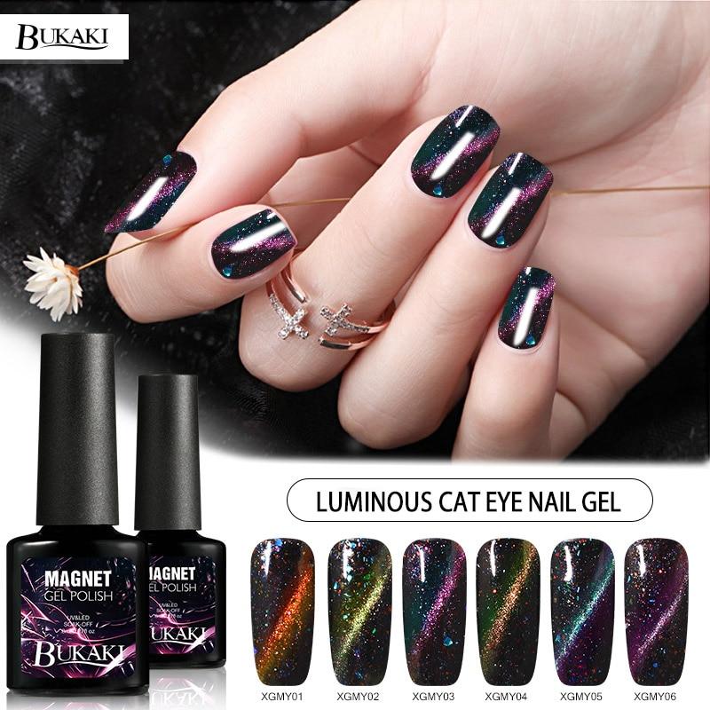 Beauty & Health Dedicated Yinikiz 3d Cat Eye Magnetic Gel Stick Glitter Soak Off Uv Nail Gel Polish Magical Varnish Led Shining Lacquer
