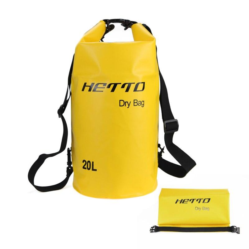 20L Waterproof Storage Dry Bag  Outdoor Diving Swimming Rafting  Kayaking Backpack