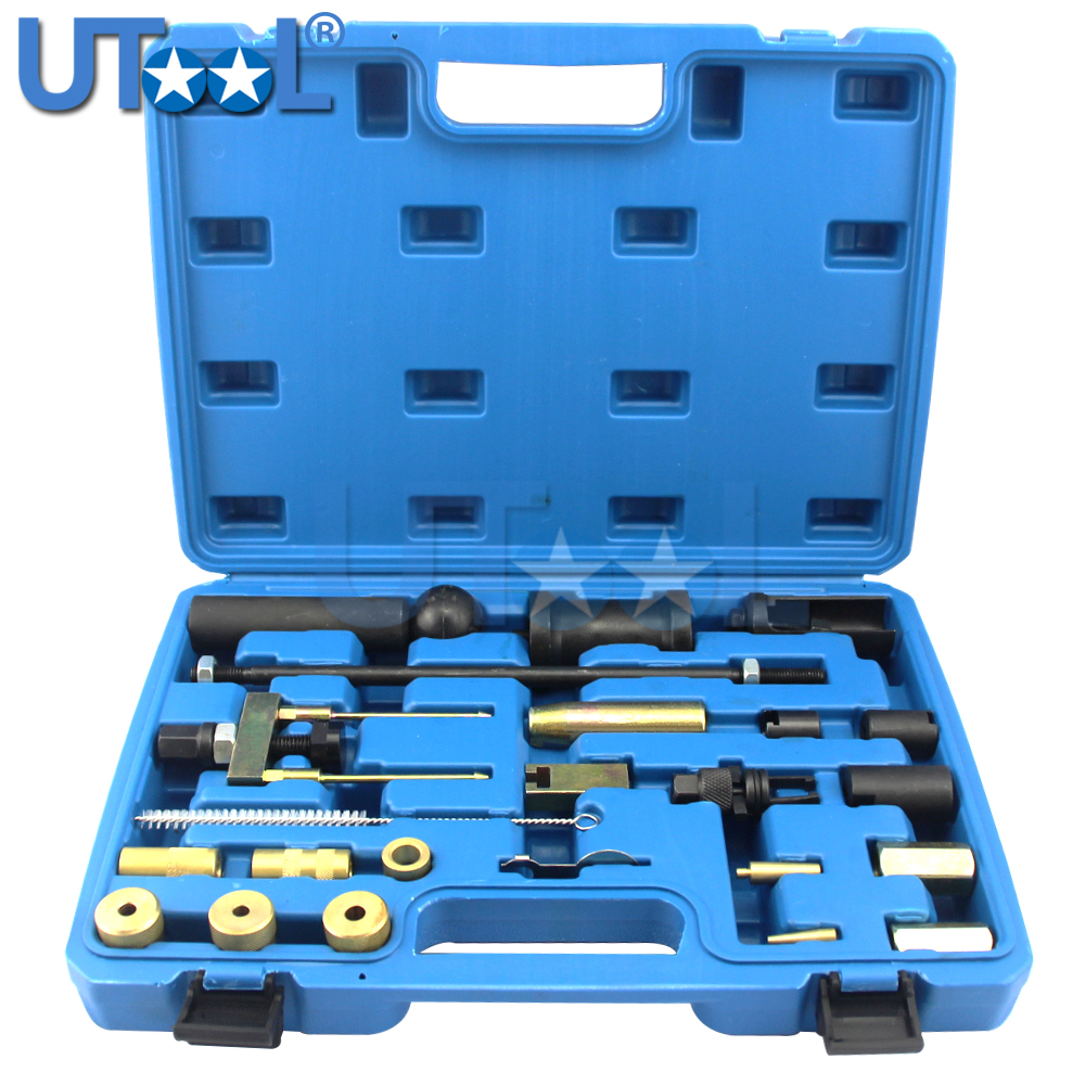 Car Petrol /Diesel Engine FSI Injector Puller Set Injector Service Tool Kit for Audi Volkswagen Engines benbaowo tools sealey diesel injector puller mercedes cdi heaters work tools