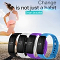 V66 Sport Smart Watch BT 4.0 Smartwatch IP68 Waterproof Heart Rate Monitor Smart Wristband Health Bracelet for Android IOS Phone