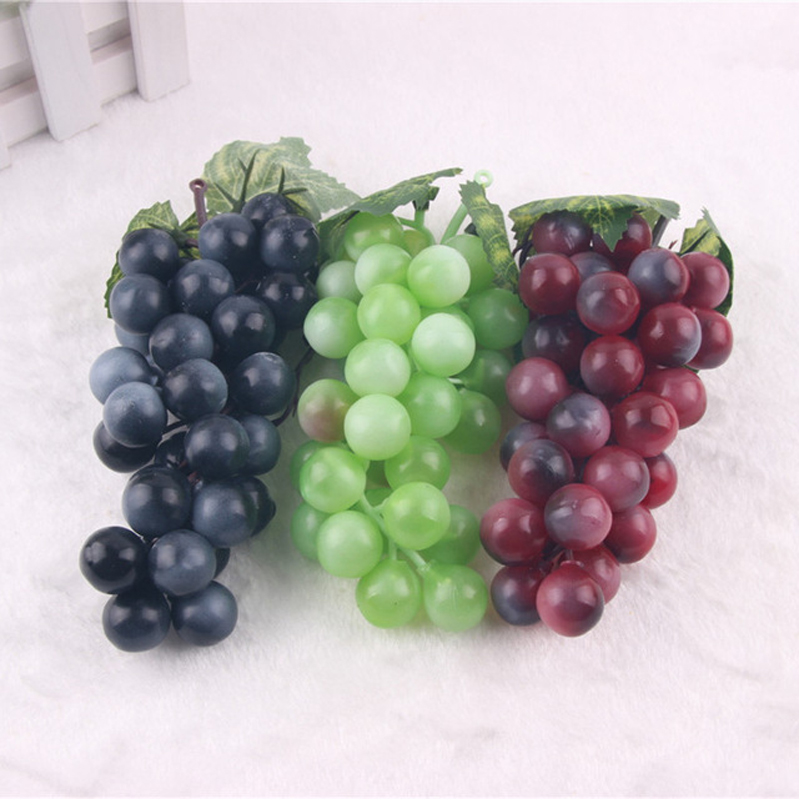 Online get cheap artificial grape clusters for Artificial grape vines decoration