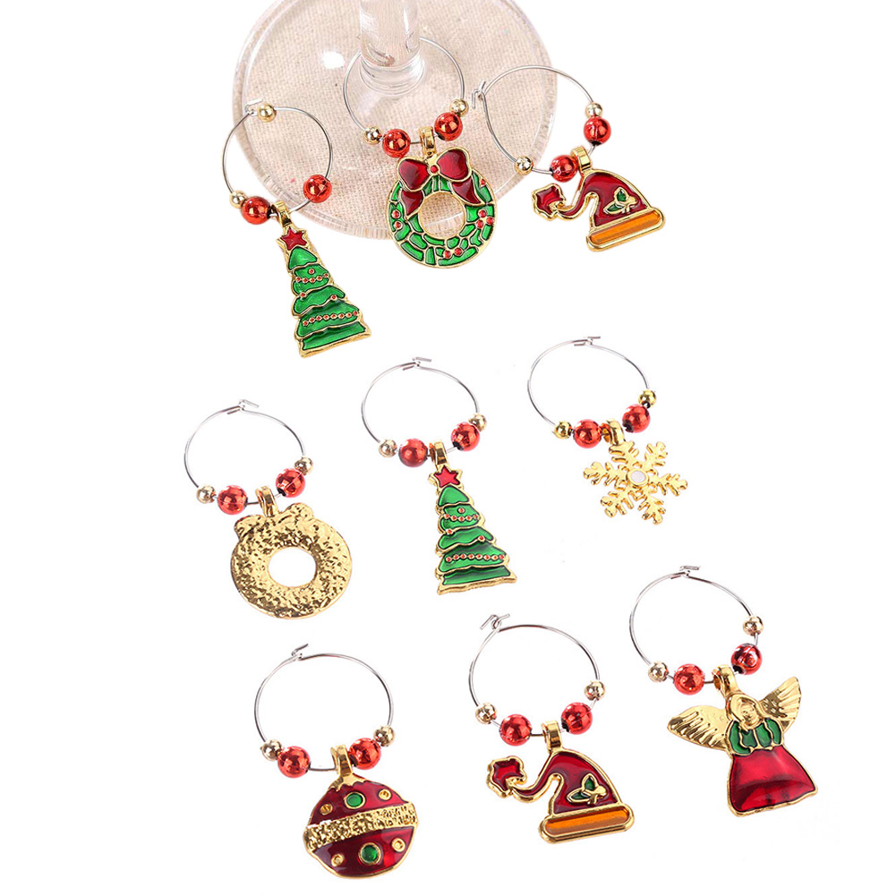 Buy wine glass charm rings and get free shipping on AliExpress.com