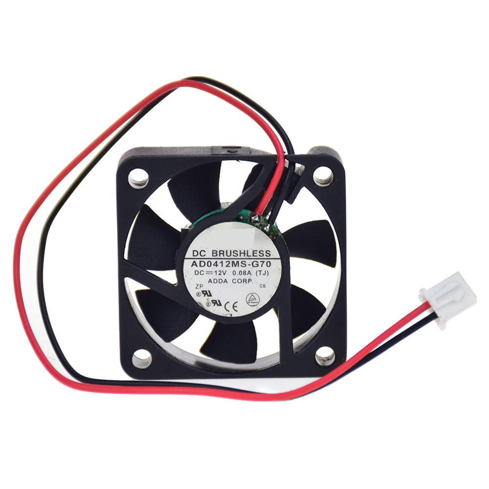 For ADDA AD0412MS-G70 4CM <font><b>40mm</b></font> 4010 DC 12V best <font><b>quiet</b></font> silent cpu cooler <font><b>fan</b></font> Processor Cooler Heatsink <font><b>Fan</b></font> image
