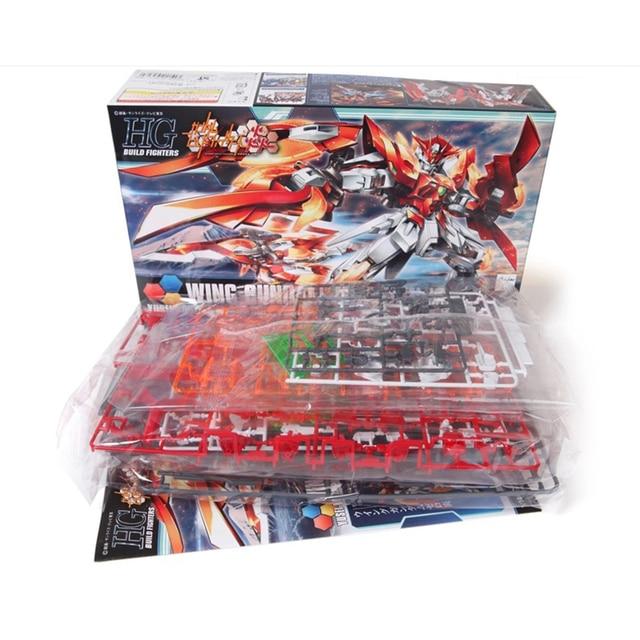 Anime Japan 1/144 Wing gundam zero Honoo Transformable model Puzzle assembled Robot hot kids toys Action Figure gunpla juguetes 4