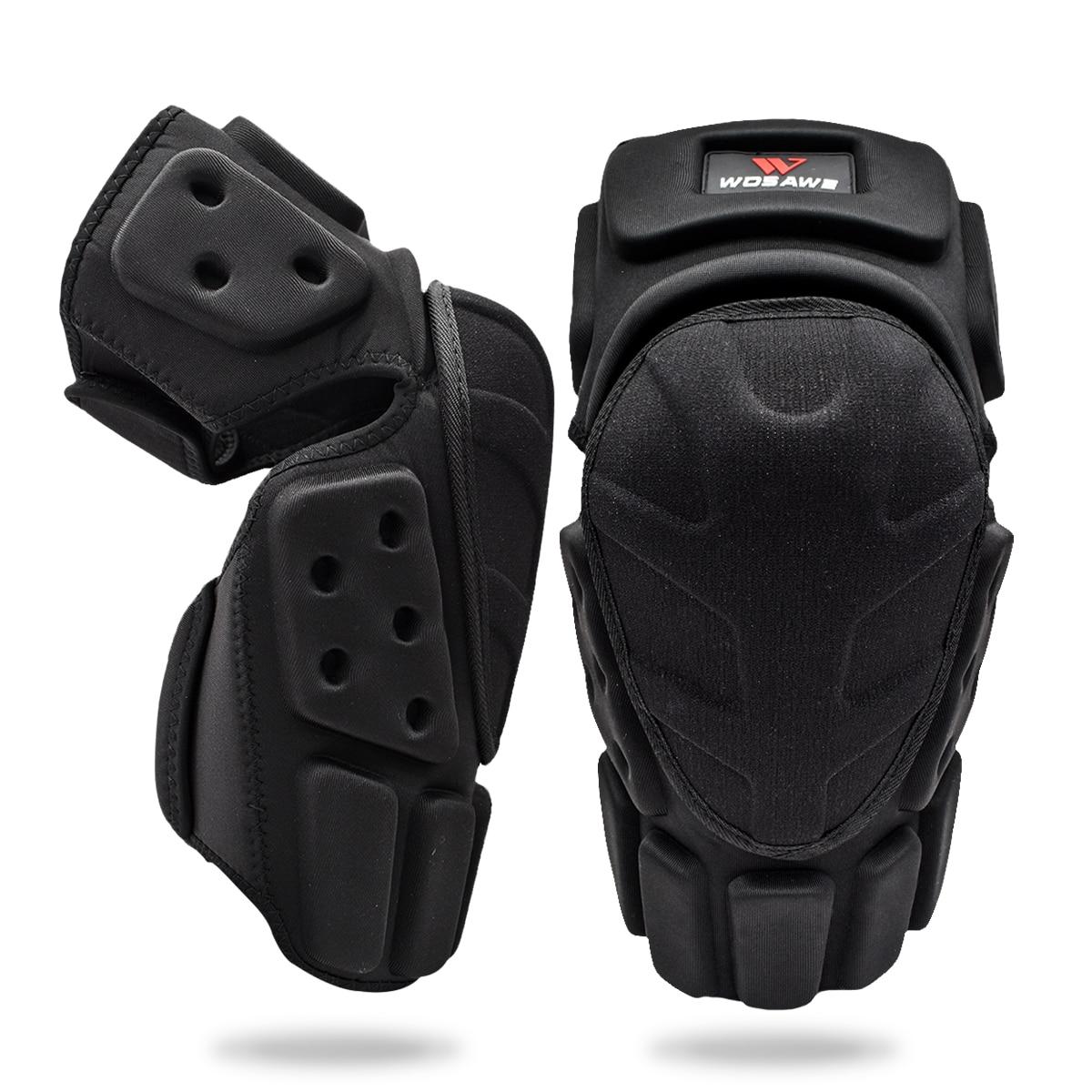 WOSAWE réglable genou protecteur moto genouillère soutien Motocross équitation cyclisme patinage Ski genouillères garde soutien
