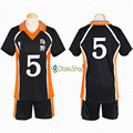 Haikyuu!! No.5 Ryuunosuke Tanaka Jerseys Unisex Sport T shirt Karasuno High School Volleyball Club Cosplay Costume anime Uniform