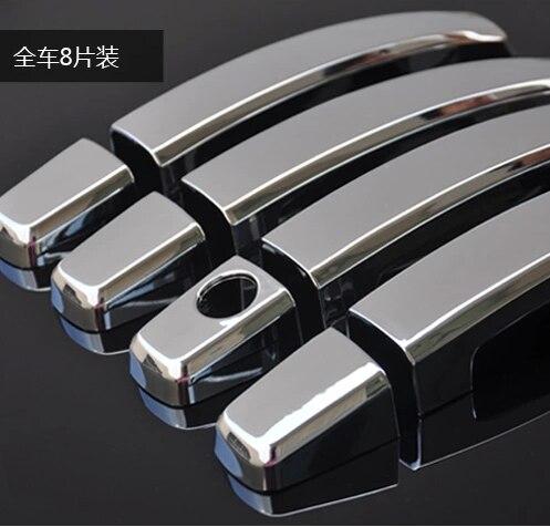 Prix pour Pour Chevrolet CRUZE berline à hayon ABS chromé Chrome Styling porte gère autocollant de couverture, vu de L'extérieur des produits de décoration