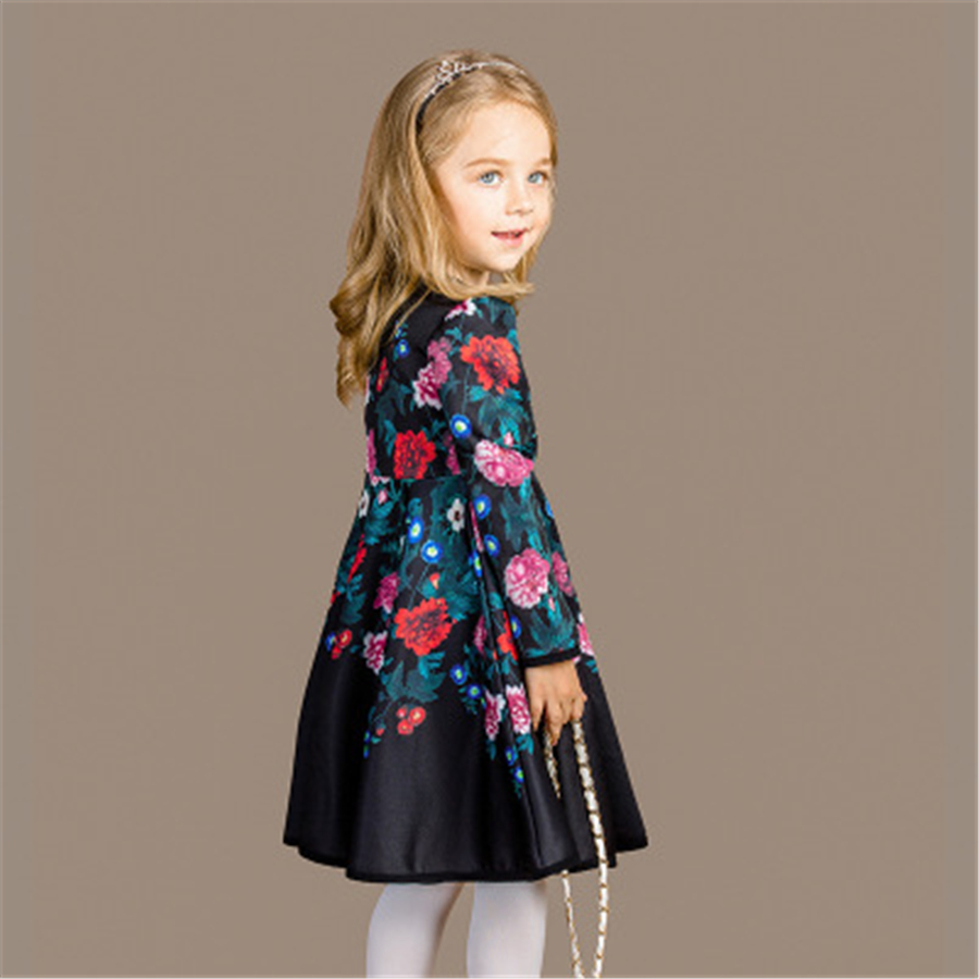 Casual Stripe Dress Girl Summer 2017 Dress Girls Cotton Vestidos Girls Floral Children Princess Casual 70C1093 db4368 davebella spring new girls cotton floral dress princess dress children boutique dress sakura dress