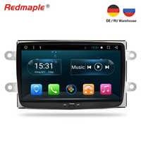 Восьмиядерный Android 7,1 автомобильный Радио gps навигация Мультимедиа Стерео для renault dacia duster Lodgy Dokker Lada XRAY