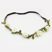 Beautiful Bohemian Flower Headbands in 10 Colors