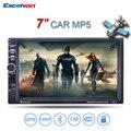"""7"""" HD 2 Din Сенсорный Экран Bluetooth 2.0 Рулевое Управление Автомобильный MP5 плеер GPS навигация FM/AUX-вход /USB/SD In Dash Аудио Радио"""