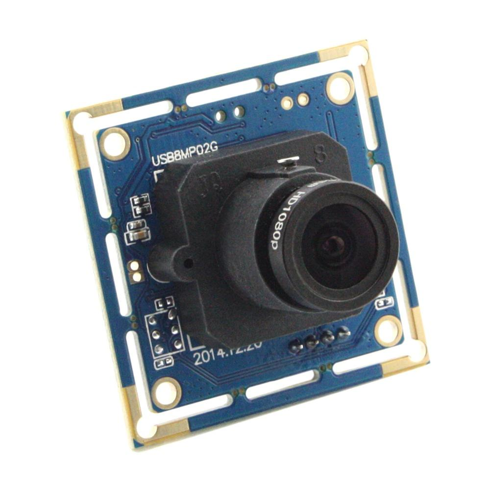 8MP <font><b>Sony</b></font> <font><b>IMX179</b></font> <font><b>Sensor</b></font> 32*32/38*38mm Industrial MIni USB camera Board with 2.8mm Lens and 1M USB Cable image