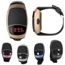 ใหม่B90สมาร์ทนาฬิกานาฬิกาจับเวลานาฬิกาปลุกกีฬาเพลงนาฬิกาแฮนด์ฟรีวิทยุFMบลูทูธลำโพงยังมีdz09 GT08นาฬิกา