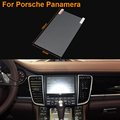 Car Styling 7 Inch GPS Navigation Screen Steel Protective Film For Porsche Panamera Control of LCD Screen Car Sticker