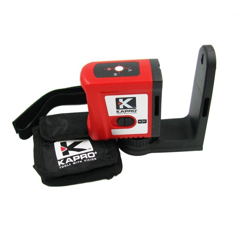 все цены на KAPRO Self-leveling Mini Infrared Laser Level With Magnet Cross beam 2-line Level Measurement Instrument With L-type bracket