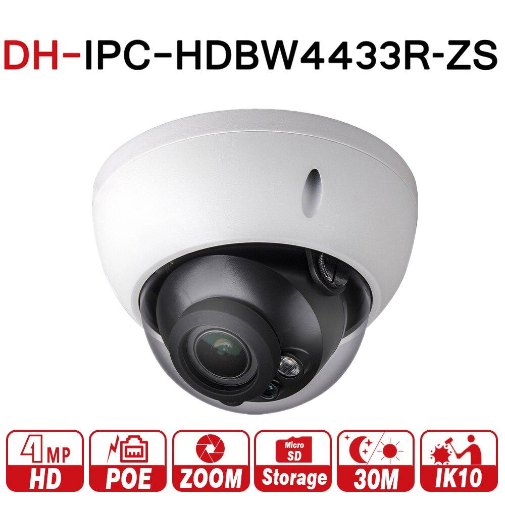 DH IPC-HDBW4433R-ZS 4MP IP Камера видеонаблюдения с 50 м ИК-диапазоне переменным фокусная линза сети Камера заменить IPC-HDBW4431R-ZS с dahua логотип