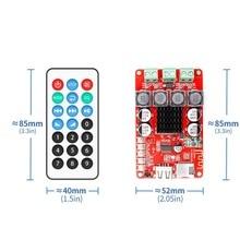 TPA3116 приемник Bluetooth усилитель аудио доска Цифровой U диск TF декодирования с дистанционным 2 х 50 Вт Amplificador