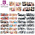 KADS BN133-144 Sexy Marilyn Monroe nail Design nail sticker Star with Beautiful dress water transfer nail sticker