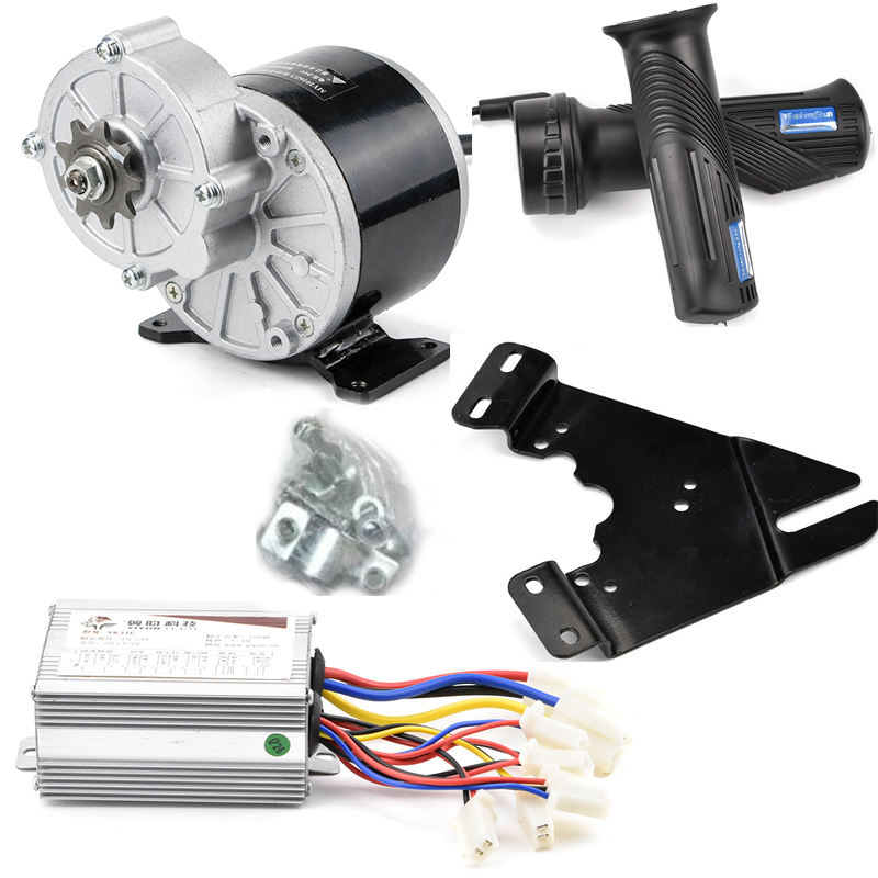 Electric Bike Conversion kit DIY 22-28 Wheel Hub motor MY1016z3 24V 350W Brush Bicicleta electrica e Scooter Controller  Electric Bike Conversion kit DIY 22-28 Wheel Hub motor MY1016z3 24V 350W Brush Bicicleta electrica e Scooter Controller