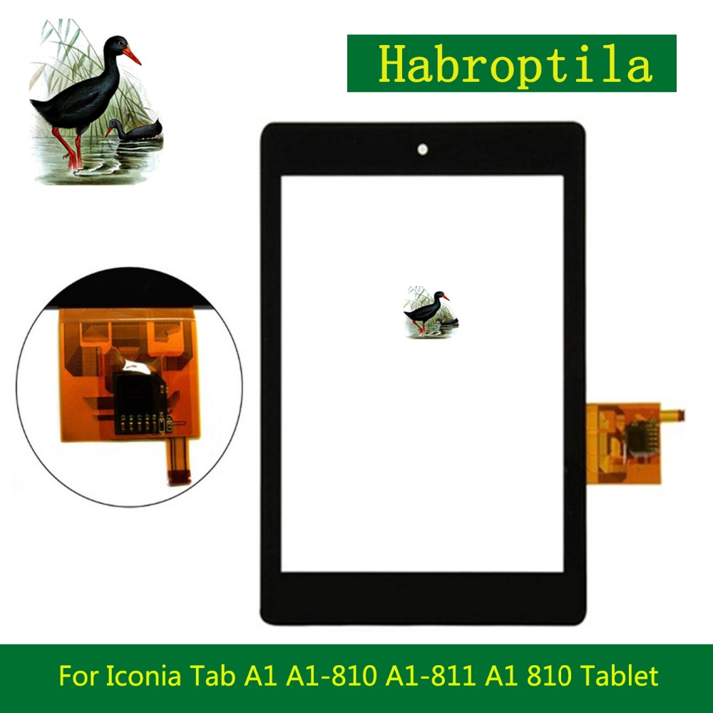 7.9 For Acer Iconia Tab A1 A1-810 A1-811 A1 810 Tablet PC Touch Screen Digitizer Sensor Panel Front Glass Lens high quality 7 le pad tablet pc touch for lenovo a1 07 touch screen digitizer glass lens replacement