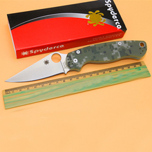 Survival Knives G10 handle Folding Knife VG10 Serrated Blade knife Tactical Hunting camping Knife