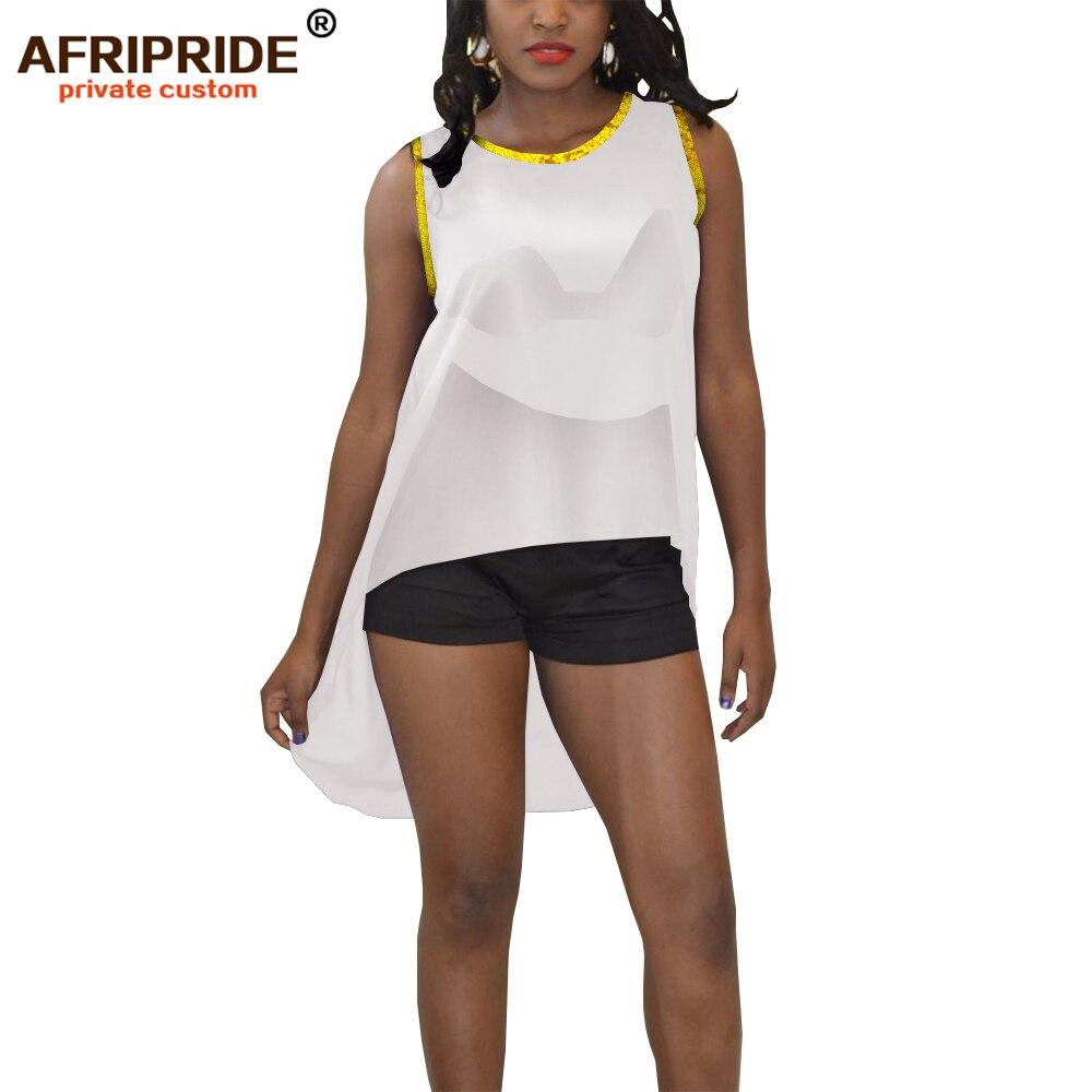 2019 vêtements africains pour femmes crop sexy hauts shein tenues rouge bleu noir blanc jaune vêtements d'été AFRIPRIDE A1922007