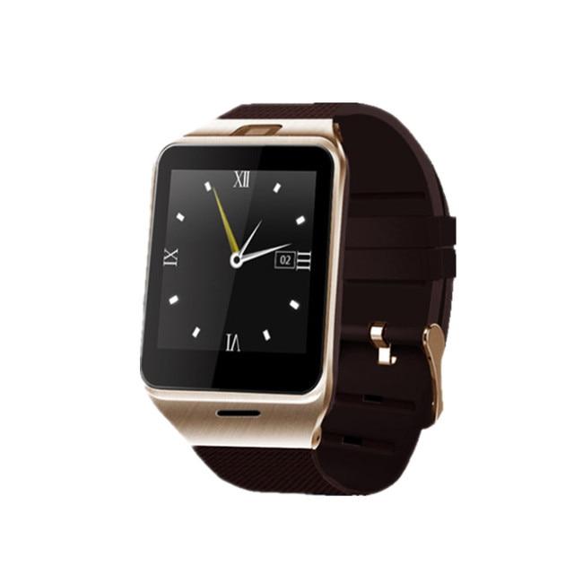 Подключение Bluetooth для Телефона Android Smart Watch GV18 Мужской Часы Синхронизации Notifier Поддержка Sim-карты Smartwatch Часы PK DZ09