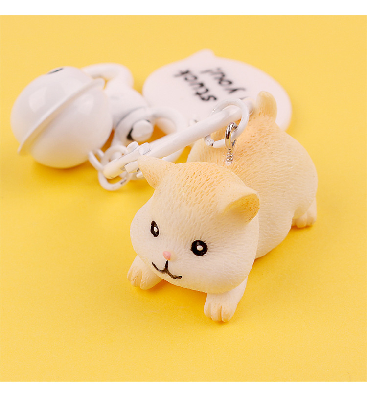 2019 Hot New hamster key rings Cute keychains trinkets car handbag pendant key chian ring For Men Or Women in Key Chains from Jewelry Accessories