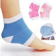Новые силиконовые Гелевые Вкладыши для ног, носки для пятки, для ухода за ногами, против трещин, противоскользящие, отшелушивающие, восстанавливающие носки для ног