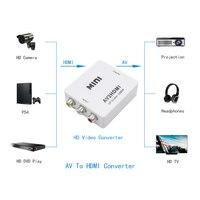 새로운 rca hd av hdmi 미니 hd 비디오 컨버터 1080 마력 hd 카메라 프로젝션 디스플레이 어 tv vhs vcr, DVD 기록 칩셋 표시
