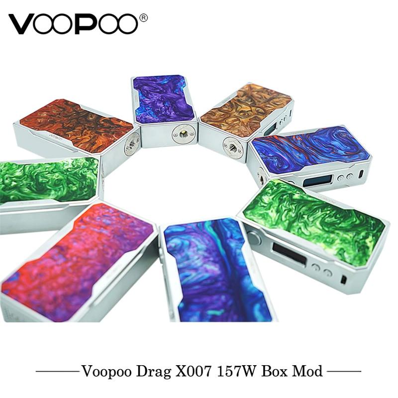 D'origine Cigarette Électronique VOOPOO GLISSER 157 w TC Boîte MOD 157 w 18650 boîte mod Vaporisateur avec NOUS GÈNE puce TC Résine Boîte mod E Cigarette - 6